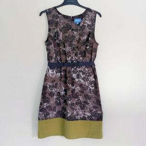 Simply Vera Vera Wang Floral Sleeveless Dress - 12